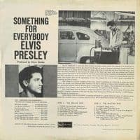 ELVIS PRESLEY Something For Everybody Vinyl Record LP RCA 1961